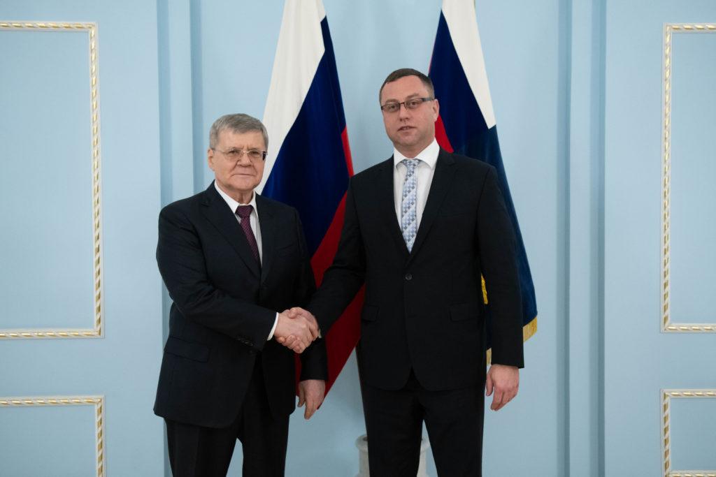 Nejvyšší státní zástupce ČR a generální prokurátor Ruské federace při setkání v Moskvě