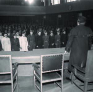 Vynesení rozsudku, 1950