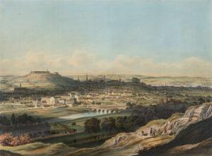 Brno in 1850