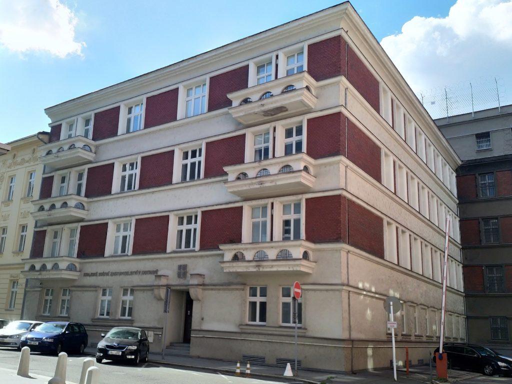 Fotografie budovy Krajského státního zastupitelství v Ostravě