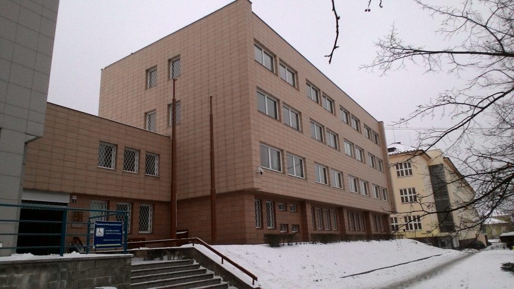 Budova Okresního státního zastupitelství v Blansku.