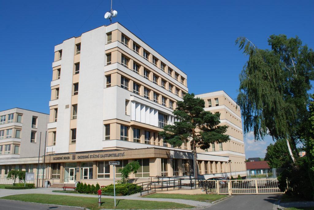 Fotografie budovy Okresního státního zastupitelství v Bruntále