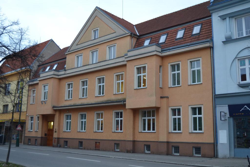Fotografie budovy Okresního státního zastupitelství v Hodoníně