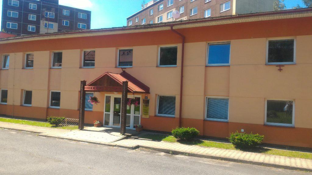 Fotografie budovy Okresního státního zastupitelství v Jeseníku