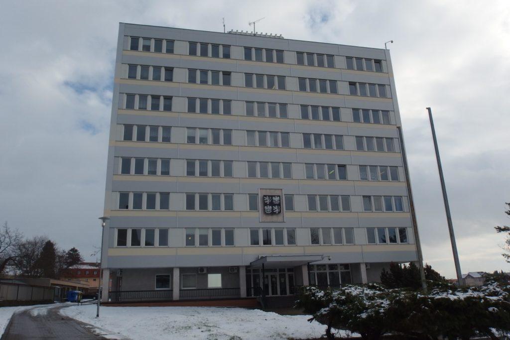 Fotografie budovy Okresního státního zastupitelství v Jičíně