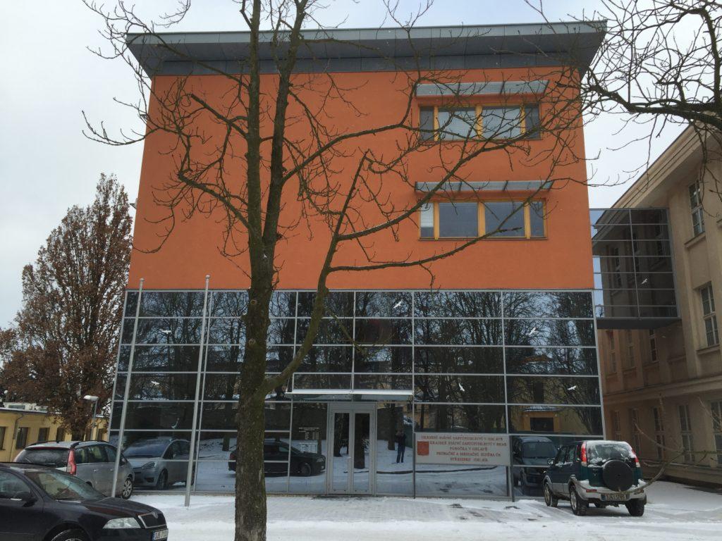 Fotografie budovy Okresního státního zastupitelství v Jihlavě