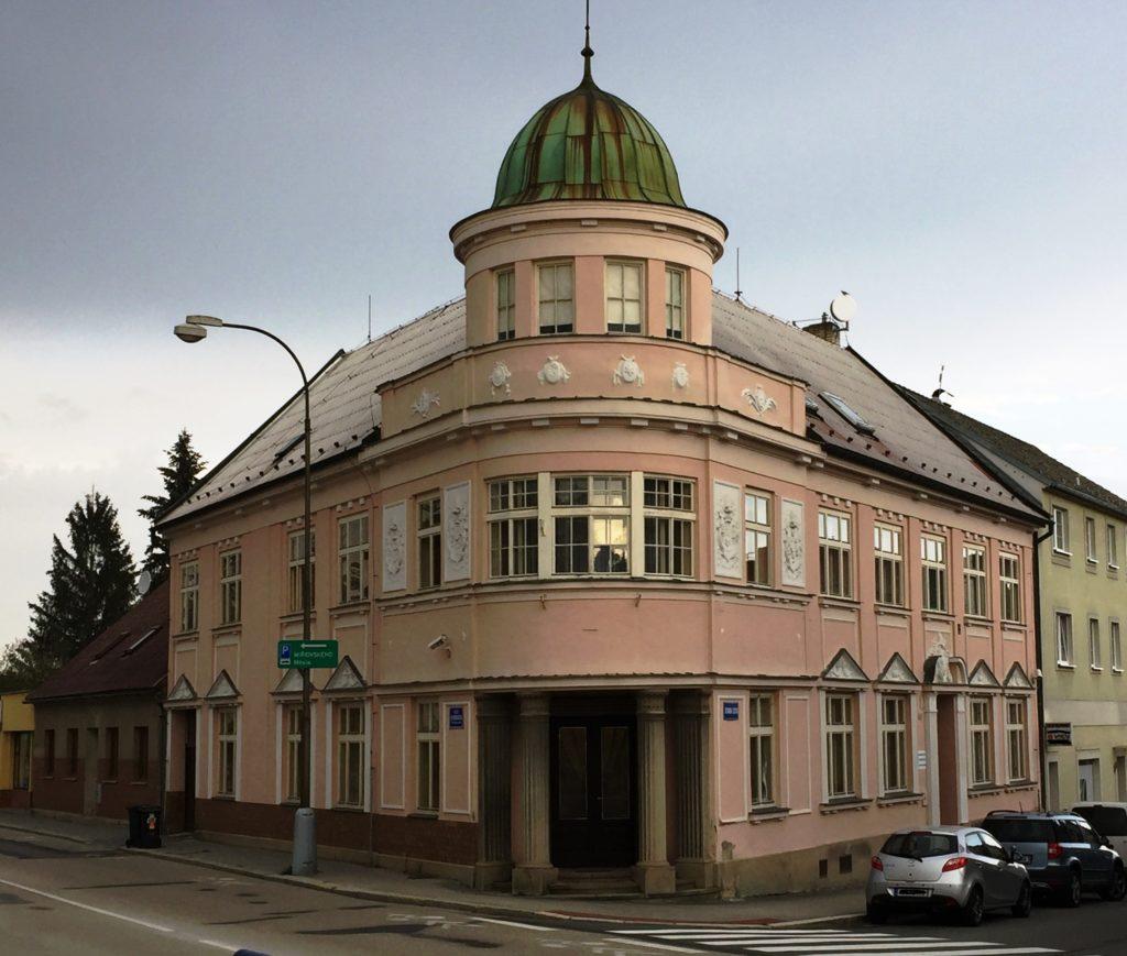 Budova Okresního státního zastupitelství v Jindřichově Hradci