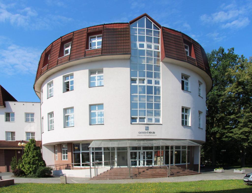 Fotografie budovy Okresního státního zastupitelství v Karviné
