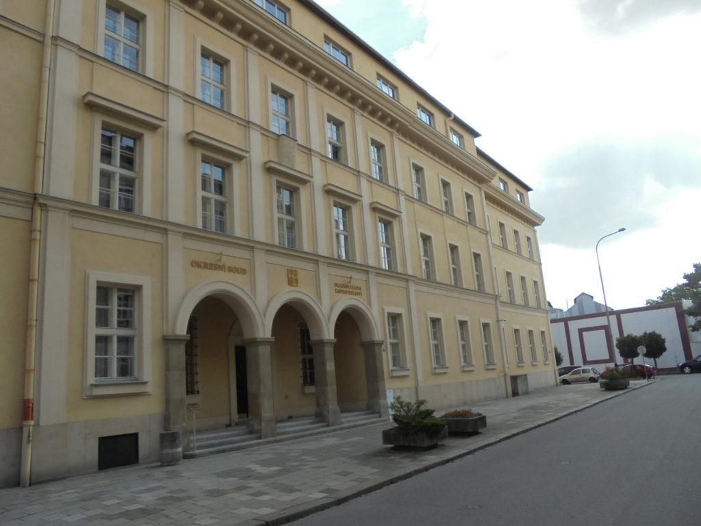 Fotografie budovy Okresního státního zastupitelství v Přerově
