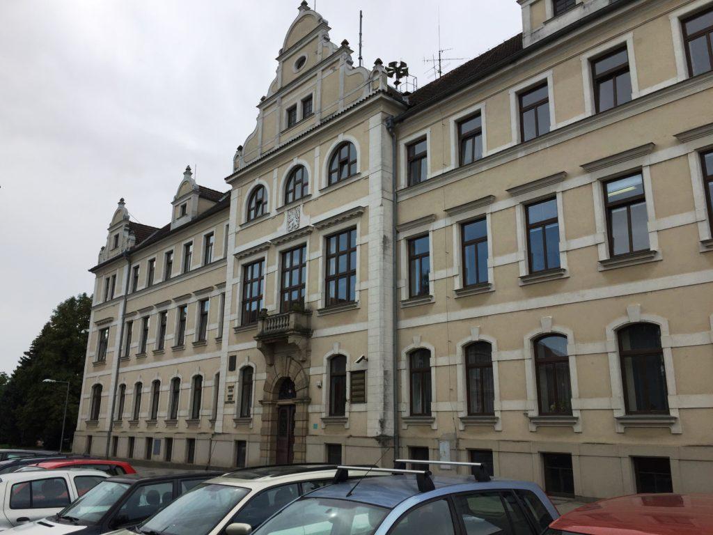 Budova okresního státního zastupitelství v Pelhřimově