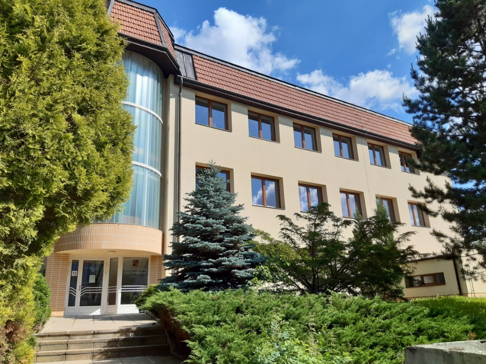 Fotografie budovy Okresního státního zastupitelství ve Vsetíně