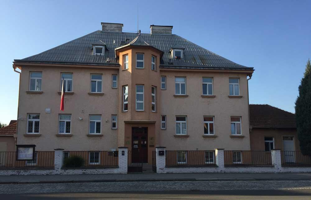Fotografie budovy Okresního státního zastupitelství v Kroměříži