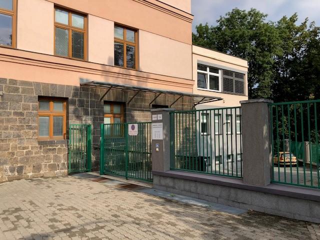 Fotografie budovy Okresního státního zastupitelství v Třebíči