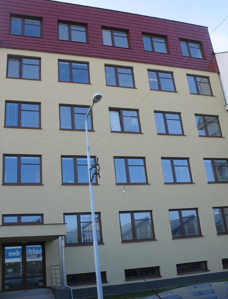Fotografie budovy Okresního státního zastupitelství v Šumperku