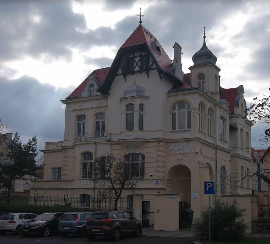 Budova Okresního státního zastupitelství v Teplicích