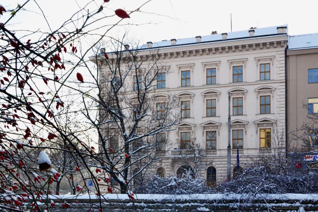 Fotografie budovy NSZ
