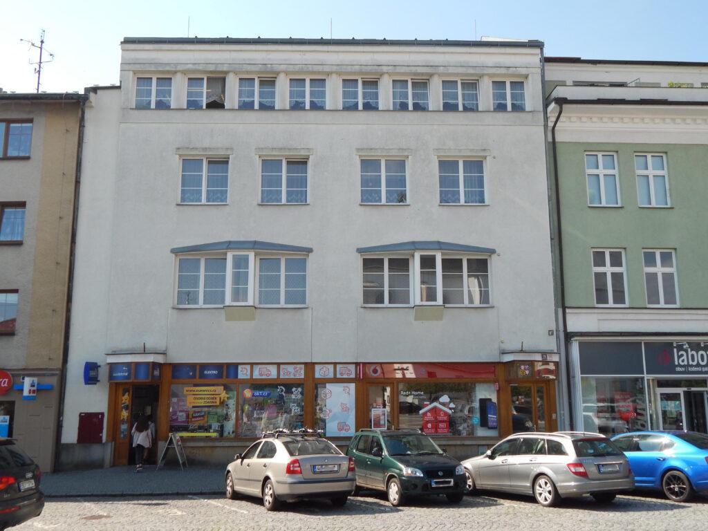Fotografie budovy Okresního státního zastupitelství ve Svitavách